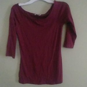 Red Old Navy Mid Sleeve Shirt